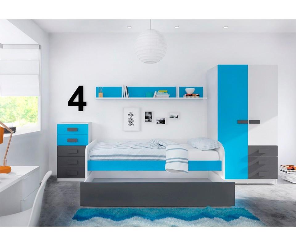 Comprar dormitorio juvenil fritz precio juveniles for Zapateros juveniles