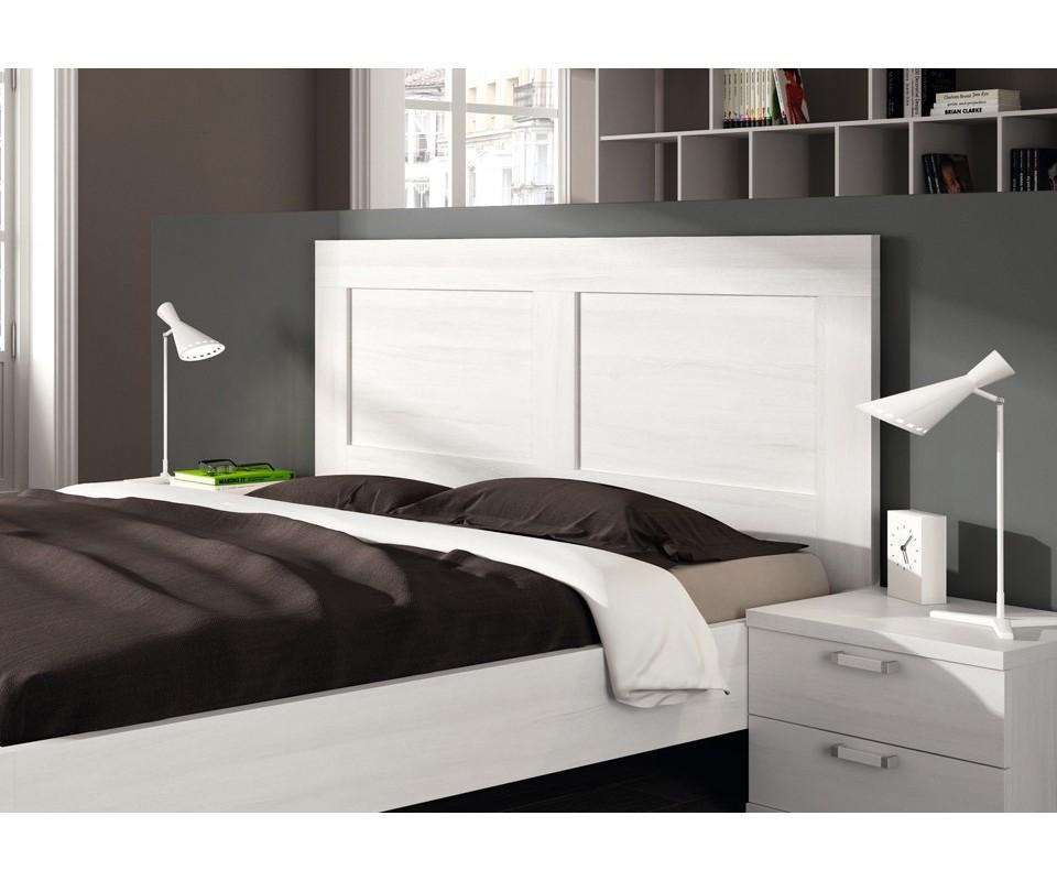 Comprar cabecero blanco italia precio cabeceros for Dormitorio cabecero blanco