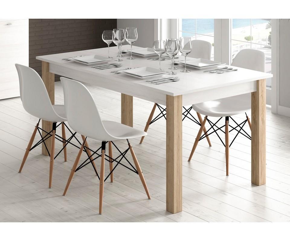 Comprar mesa de comedor extensible trevi precio mesas for Cristal mesa