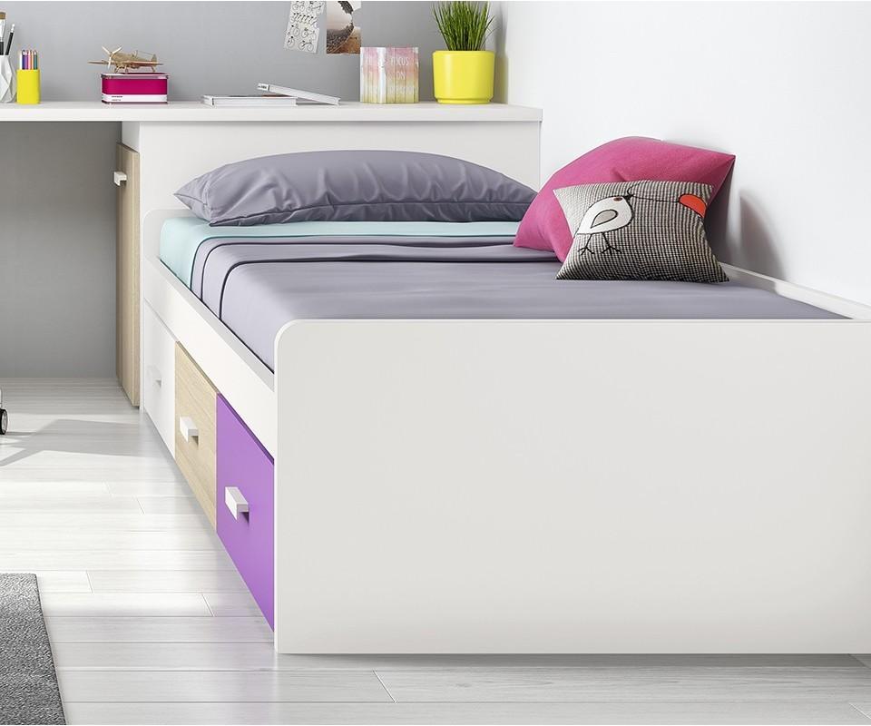 Comprar cama con cajones basik - Camas infantiles con cajones ...