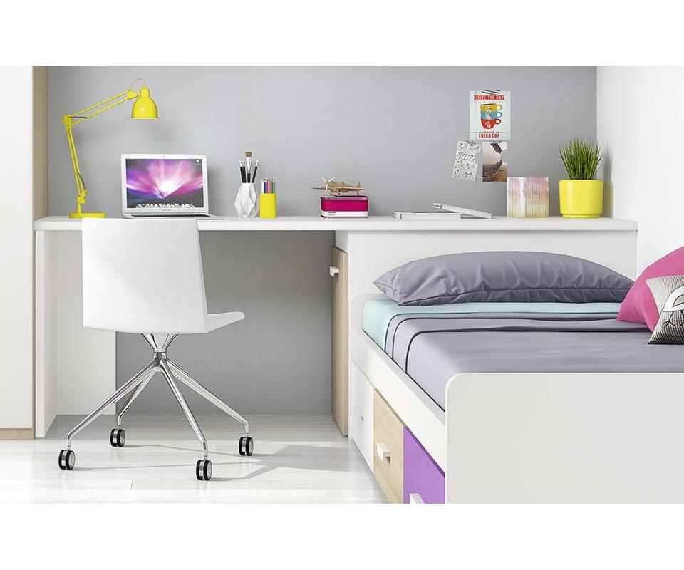 Comprar mesa estudio con arc n basik - Cama nido arcon ...