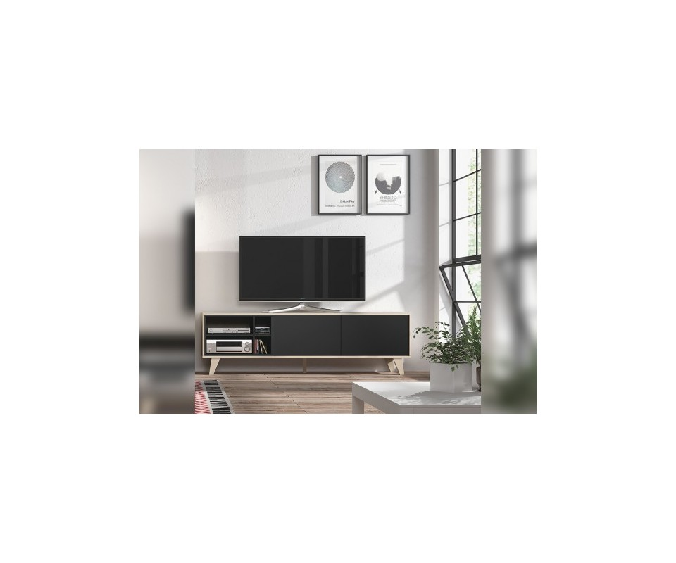 Compro mueble para tv usado for Muebles auxiliares para television
