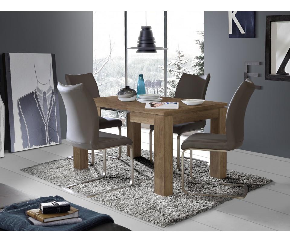 Mesas comedor grandes mesa de comedor con alas mesa for Mesa cristal tuco