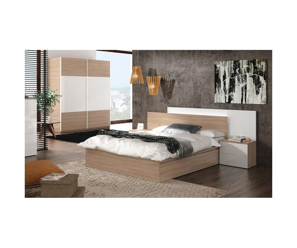 Comprar cabecero y dos mesillas verona precio conjuntos for Precio dormitorio completo