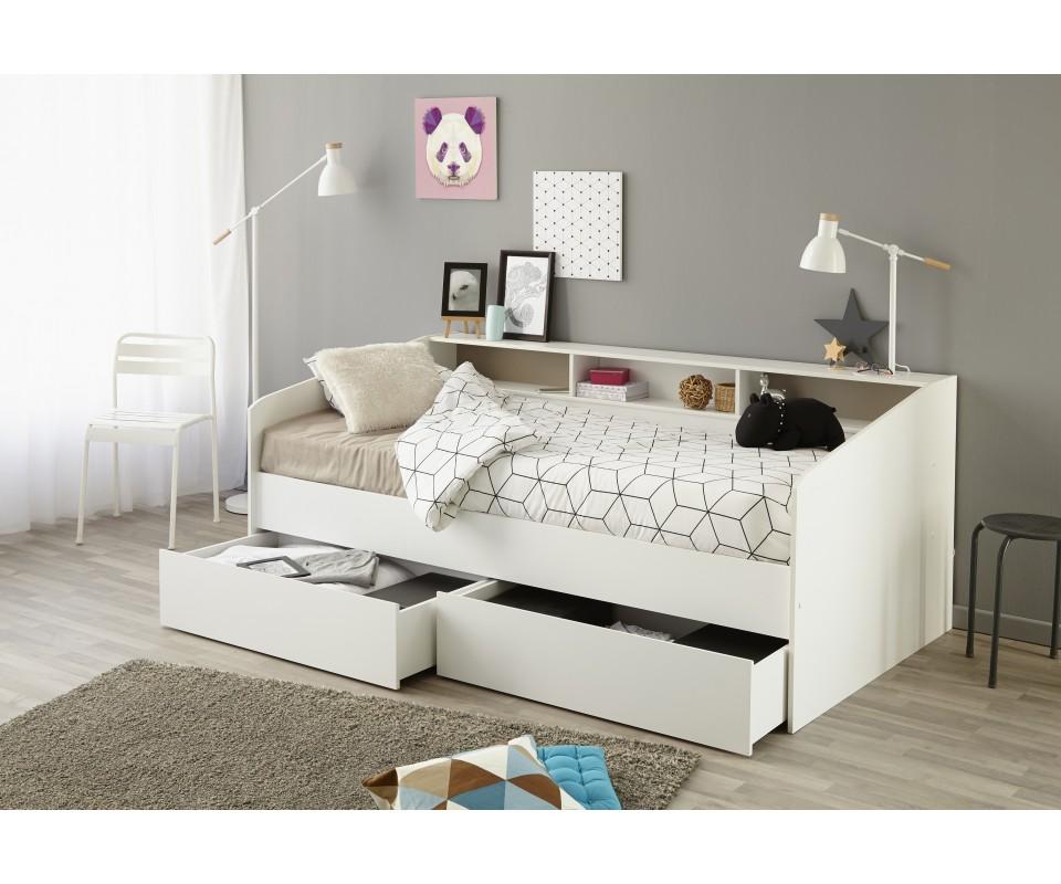 Comprar cama div n con cajones sleep for Cama divan nina