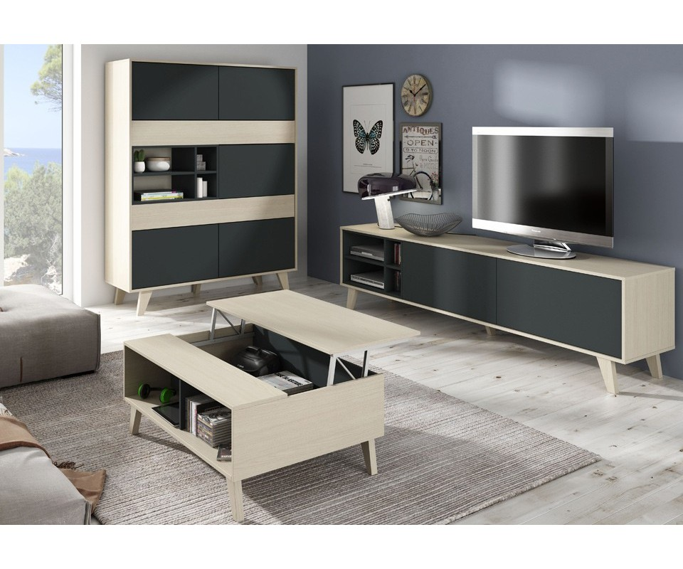 Comprar mesa de centro elevable lennon precio mesas de - Mesa de salon elevable ...