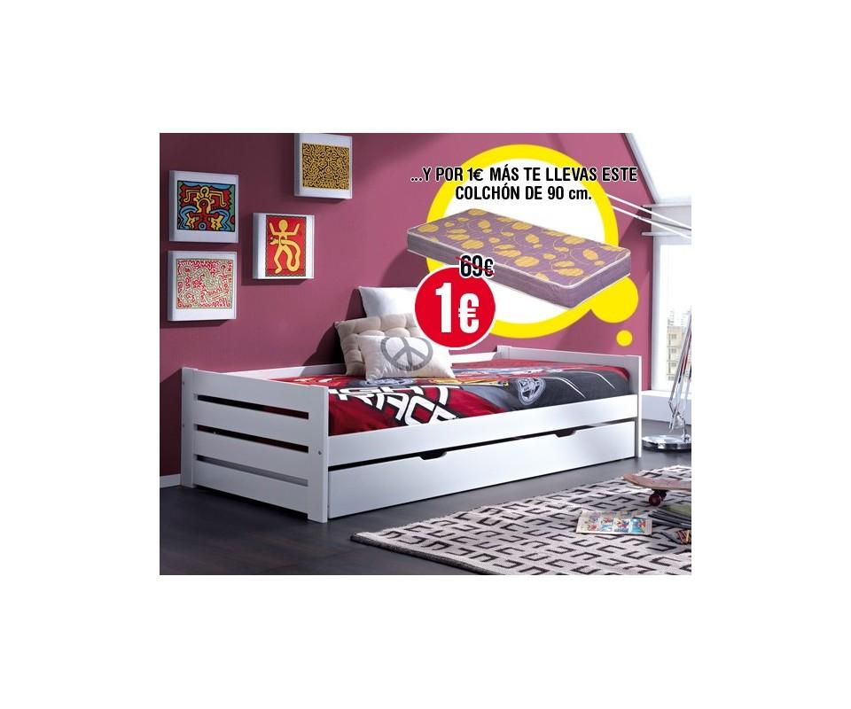 Comprar muebles a un euro precio camas nido - Muebles por un euro ...