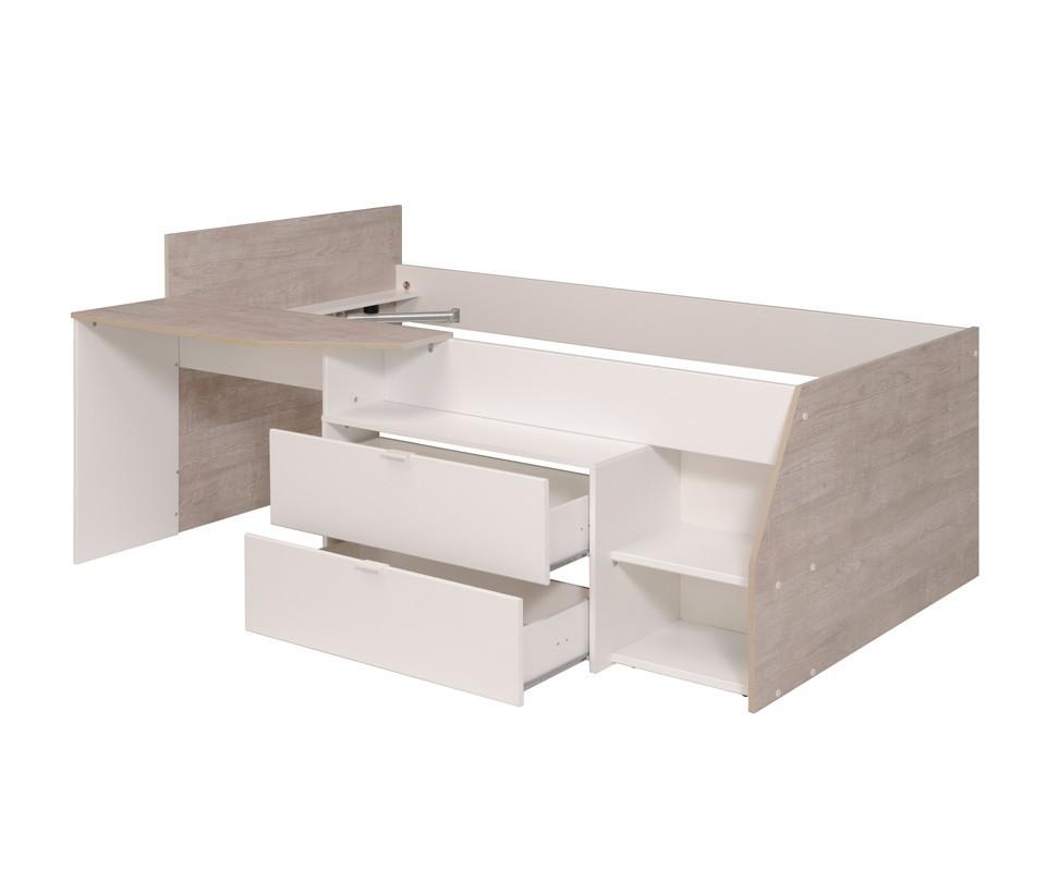 Cama nido y escritorio elisa comprar camas nido en - Cama nido cajones ...