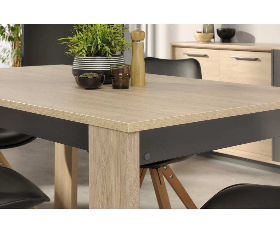 Comprar mesa rectangular de comedor feel - Mesa rectangular ...