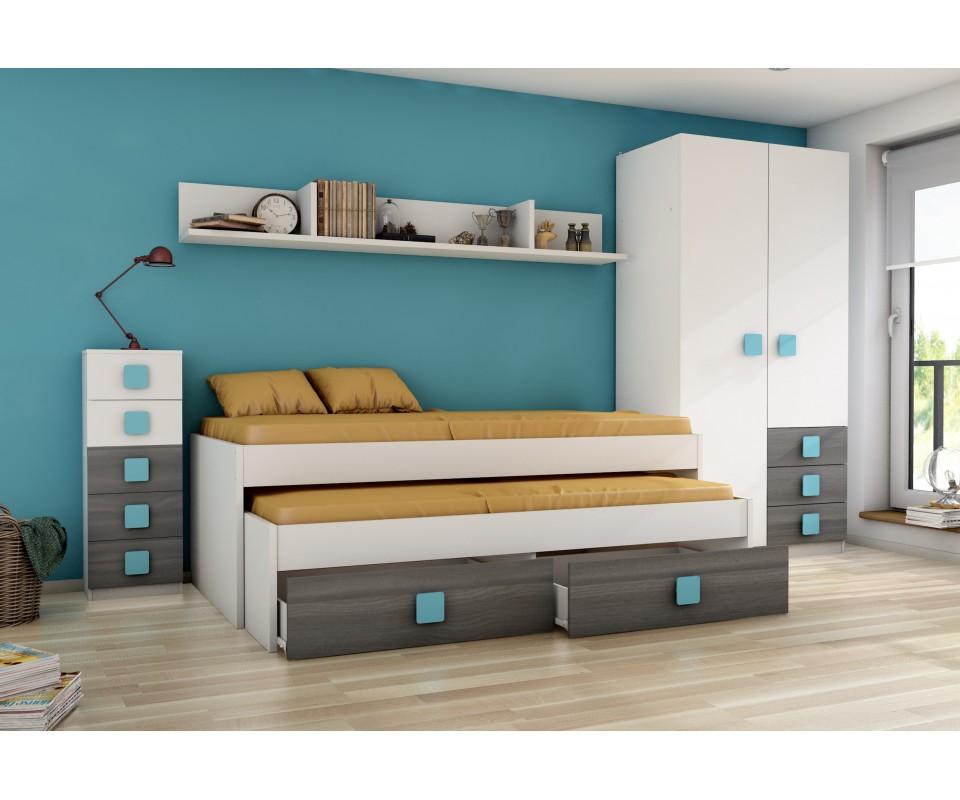 Comprar compacto juvenil rachel precio camas nido - Cama nido tuco ...