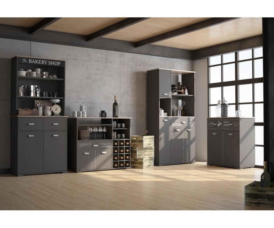 Muebles auxiliares de cocina online simple armario for Muebles tuco online