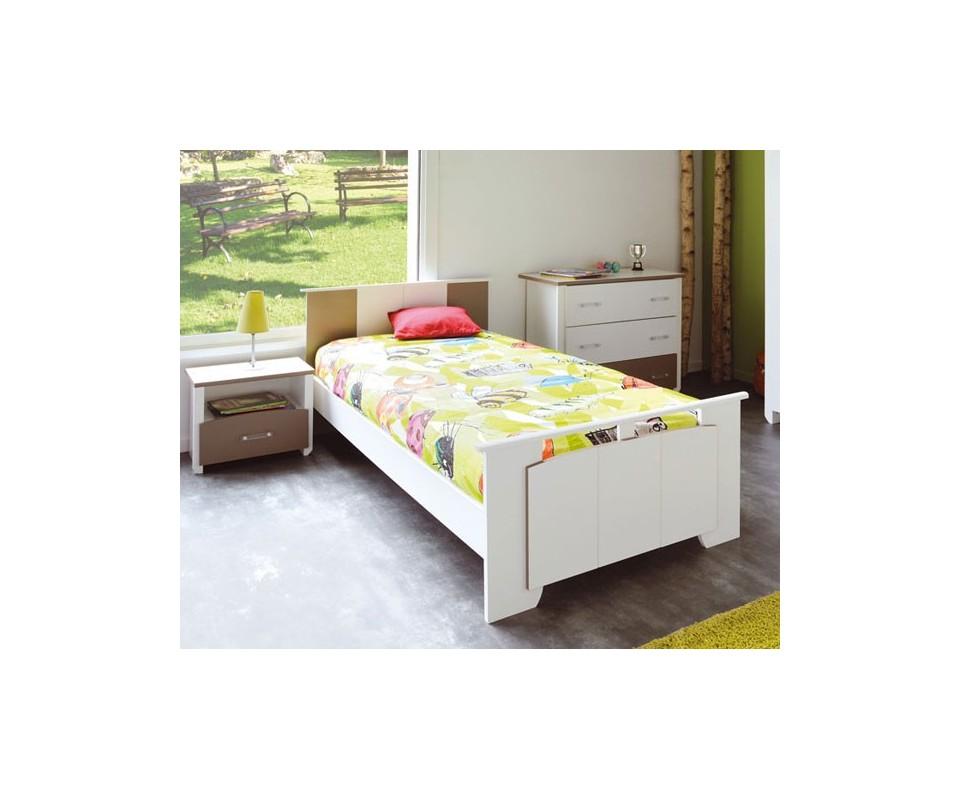 Comprar cama individual barata precio juveniles - Cama individual juvenil ...