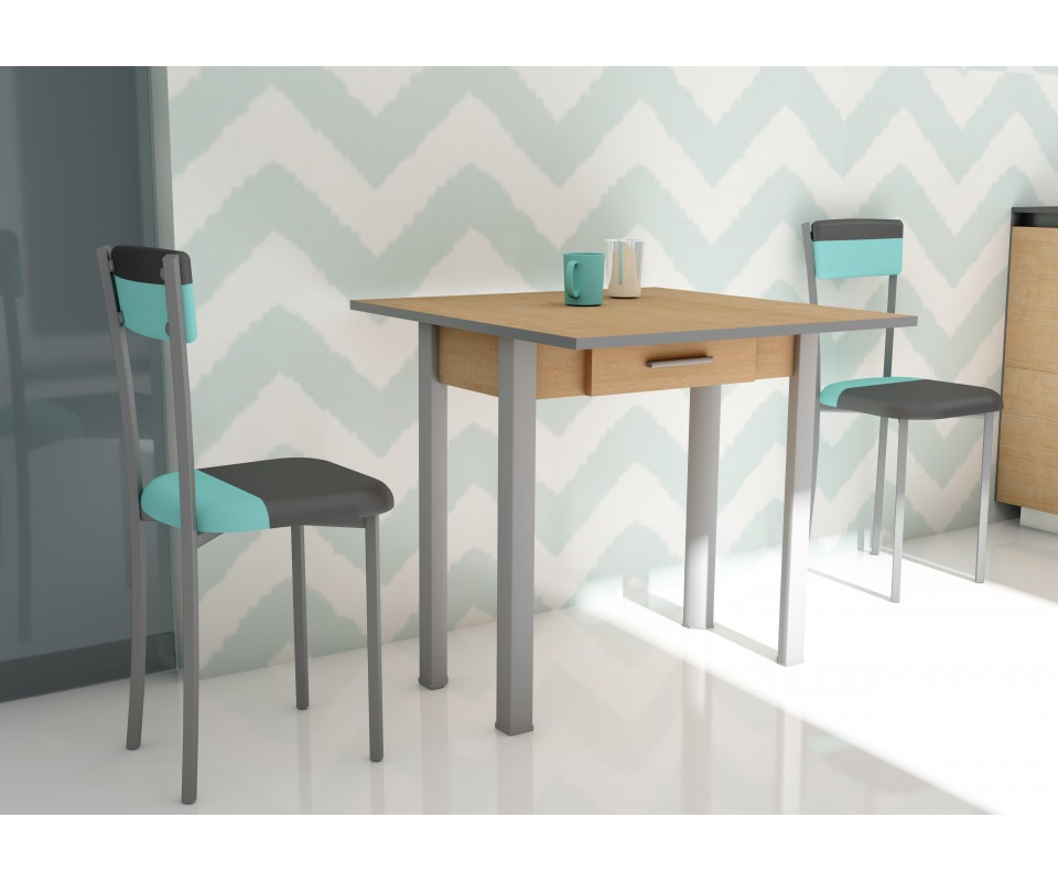 Mesas de cocina originales itmis ideas cocinas con isla for Table extensible glasgow