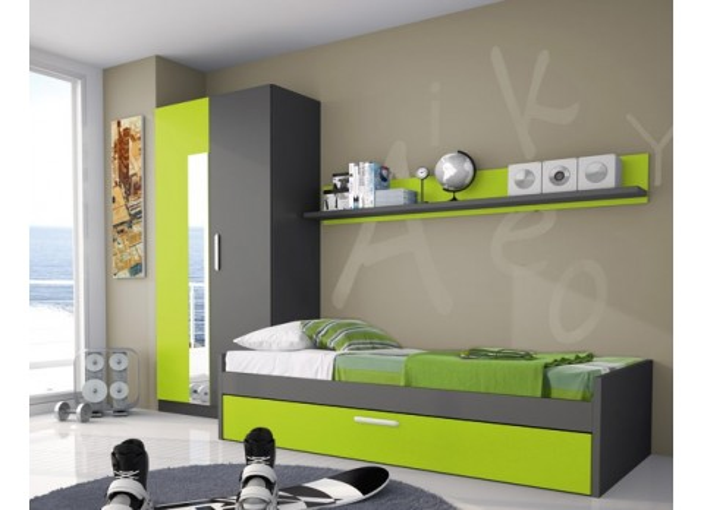 Comprar cama nido arrastre 90 x 190 precio juveniles - Cama nido tuco ...