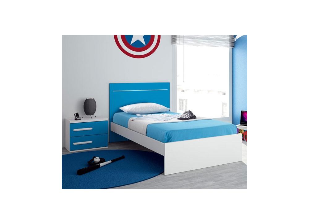 Comprar cama individual oferta precio juveniles for Ofertas de camas