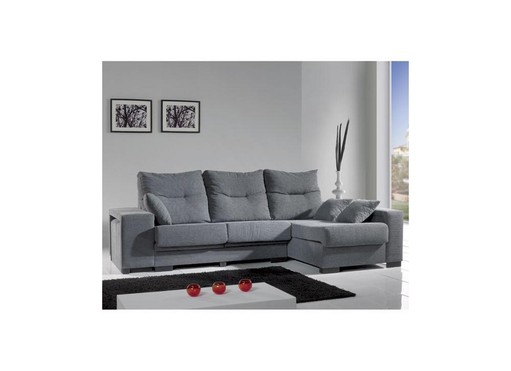 Comprar sofa con chaiselongue oferta precio sof s y for Sofas y sillones precios