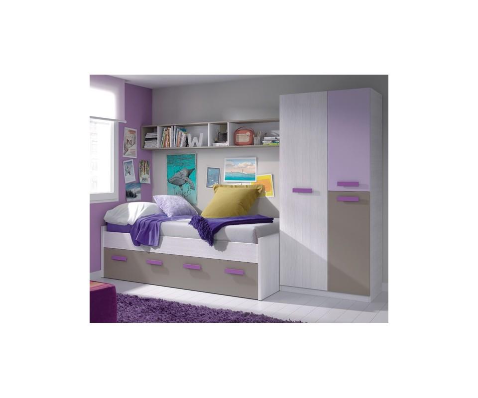 Comprar cama doble precio juveniles - Camas juveniles precios ...