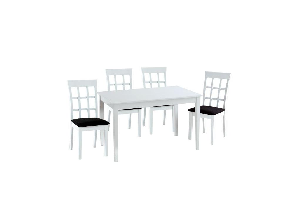 Comprar mesa comedor blanca precio mesas y sillas for Precio mesa comedor