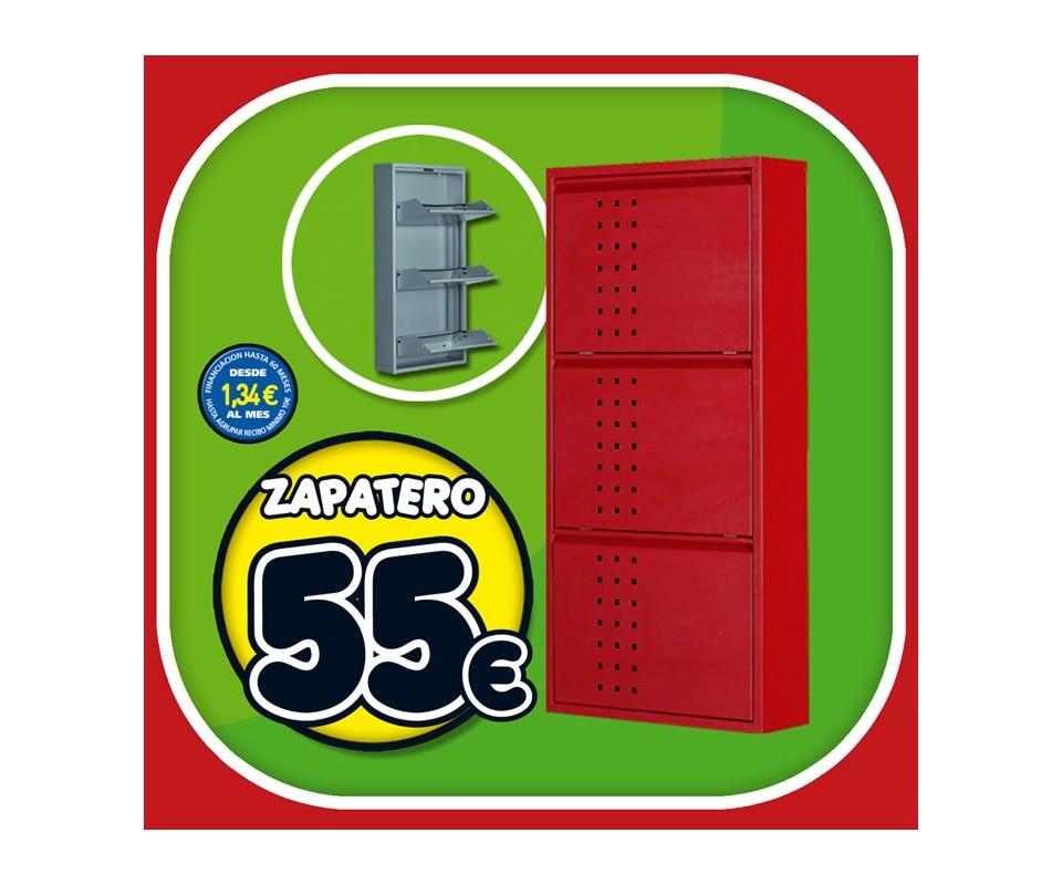 Comprar zapatero met lico precio muebles auxiliares for Zapatero metalico blanco