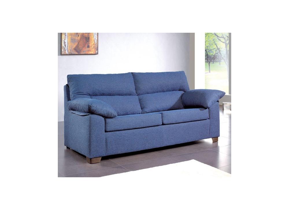 Comprar sof 2 plazas azul precio sof s y sillones for Medidas sofa 2 plazas