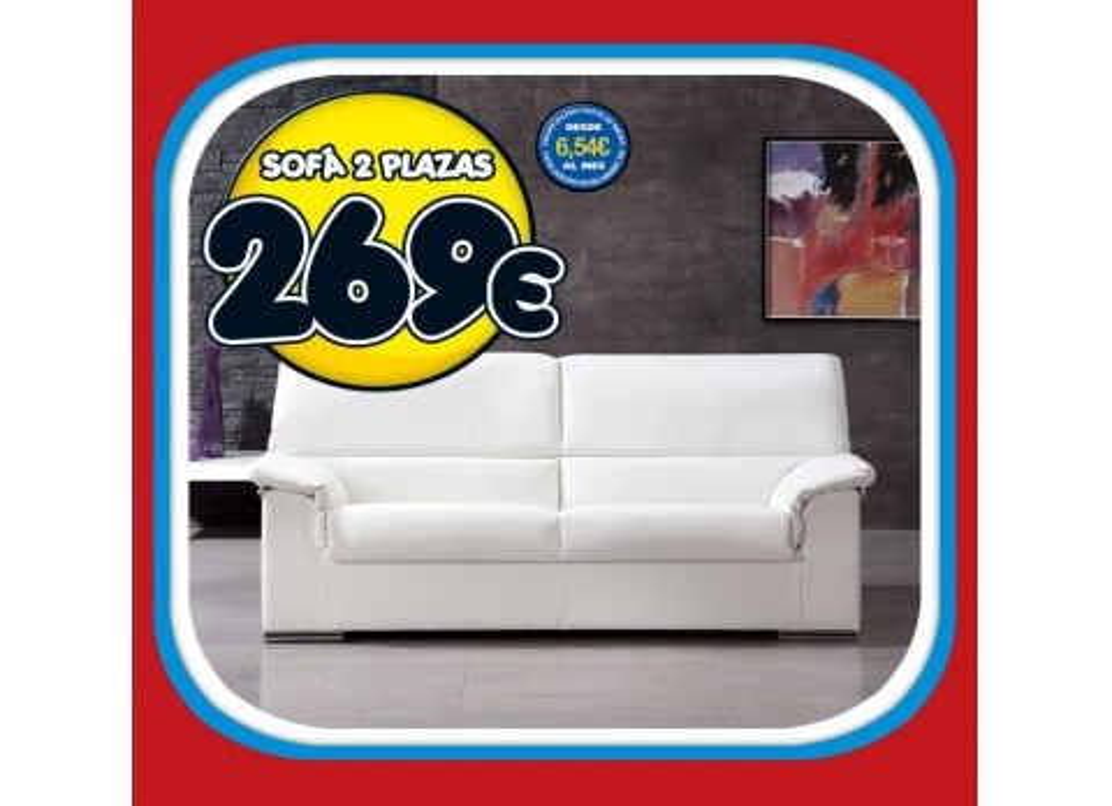 Comprar sof de 2 plazas precio sof s y sillones for Precios de sofas y sillones