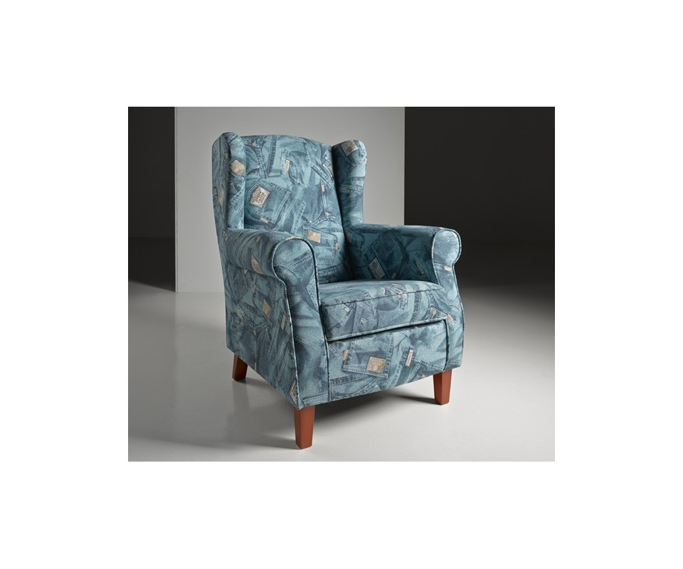 Precio tapizar sillon orejero good silln orejero tapizado - Tapizar sillon precio ...