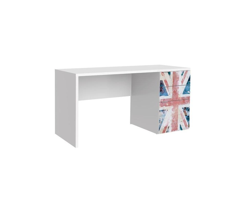 Comprar mesa estudio barata precio muebles auxiliares - Mesa oficina barata ...