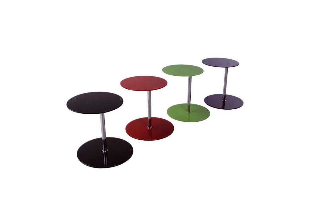 Comprar mesa auxiliar cristal precio muebles auxiliares for Mesa cristal tuco