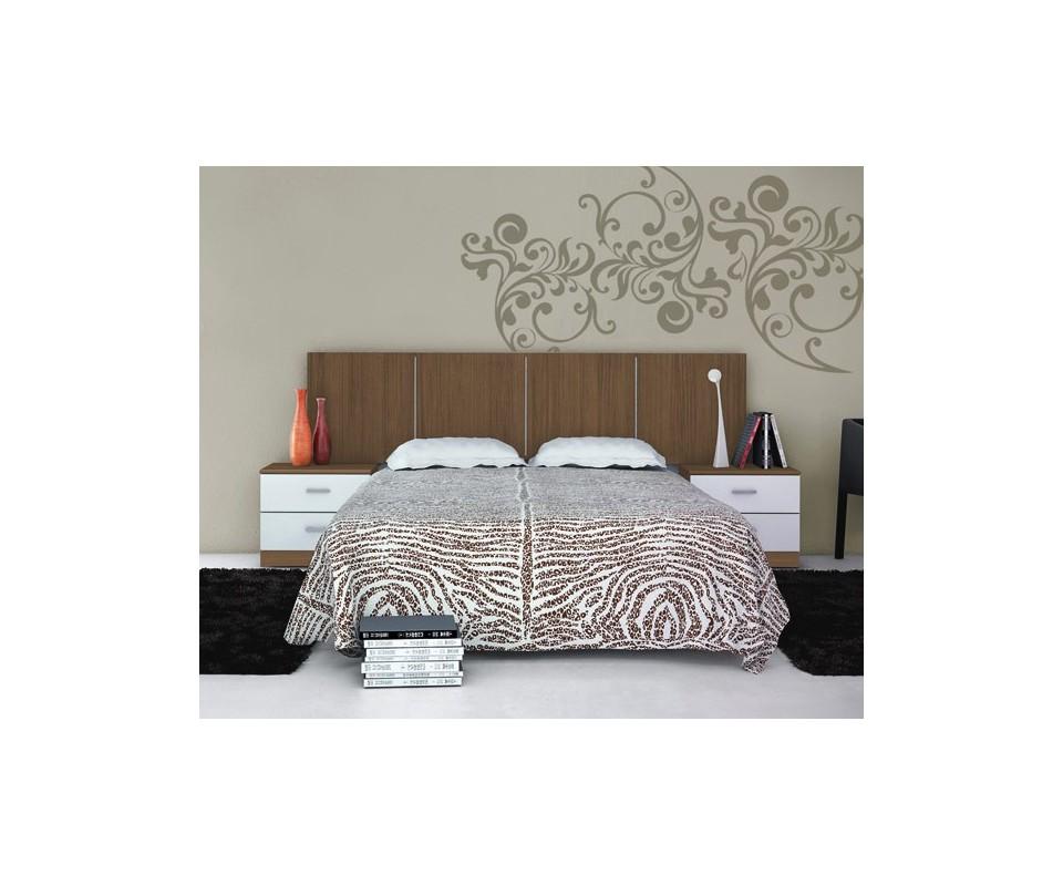 Comprar dormitorio cabecero 2 mesitas precio dormitorios - Recibidores tuco ...