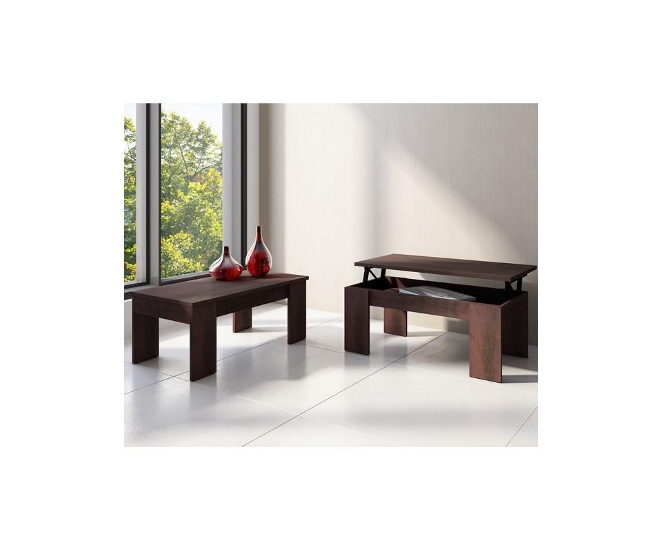 Comprar mesa centro elevable wengue precio muebles for Mesa centro elevable