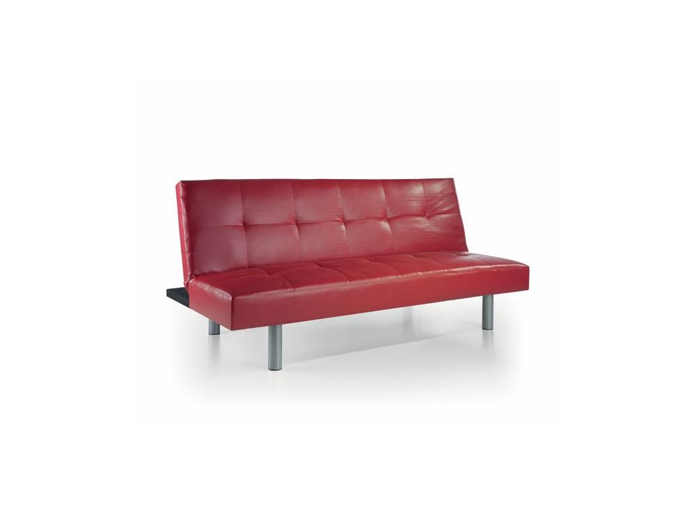 Comprar sofa cama rojo oferta precio sof s y sillones for Sofa cama oferta alcampo