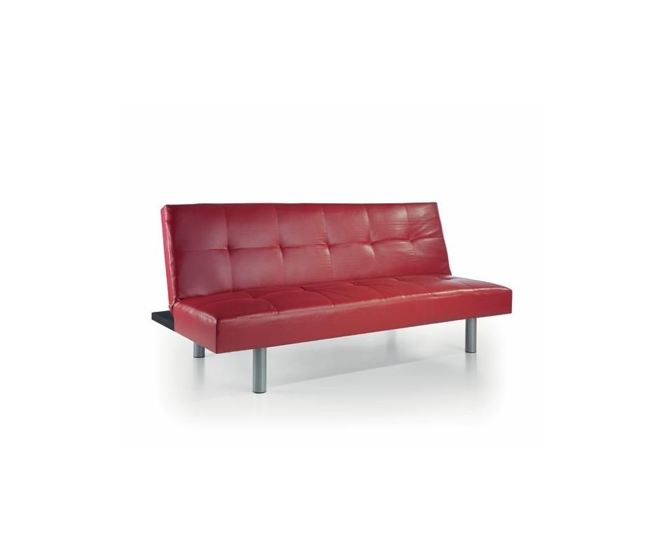 Muebles wengue sofa rojo 20170820224921 - Sofa cama rojo ...