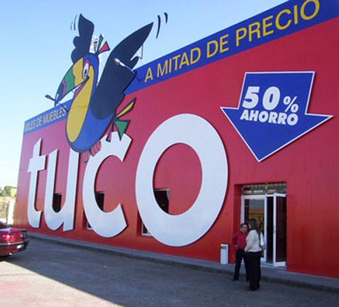 Tuco badajoz muebles tuco for Muebles tuco valladolid